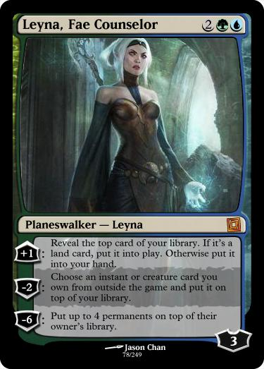 Leyna, Fae Counselor